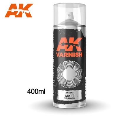 SPRAY BARNIZ MATE 400 ml - AK 1013