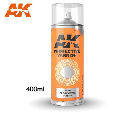 SPRAY BARNIZ PROTECTOR 400 ml - AK 1015