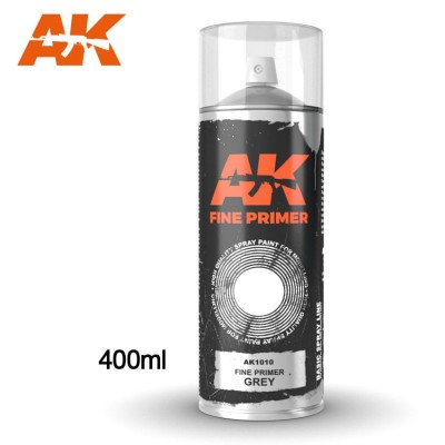 SPRAY IMPRIMACION GRIS (400 ml) - AK 1010