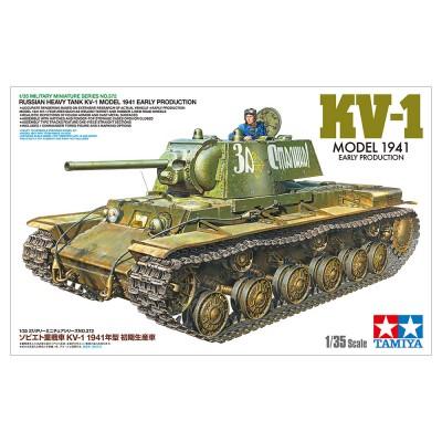 CARRO PESADO KV-1 MODEL 1941 EARLY - ESCALA 1/35 - TAMIYA 35372