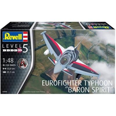 "EUROFIGHTER EF-2000 TYPHOON ""Baron Spirit"" -Escala 1/48- Revell 03848"
