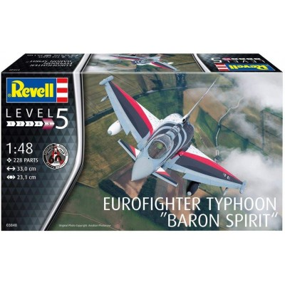 EUROFIGHTER TYPHOON BARON SPIRIT ESCALA 1/48 - REVELL 03848