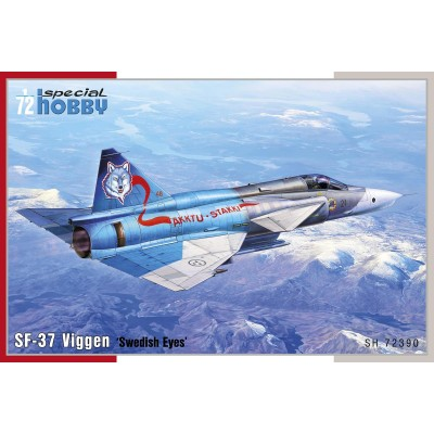 SAAB SF-37 VIGGEN RECCE - ESCALA 1/72 - SPECIAL HOBBY 72390