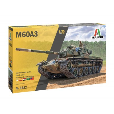 CARRO DE COMBATE M-60 A3 PATTON -Escala1/35- Italeri 6582
