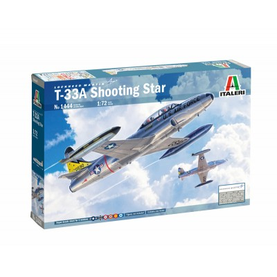 LOCKHEED T-33 A SHOOTING STAR -Escala 1/72- Italeri 1444