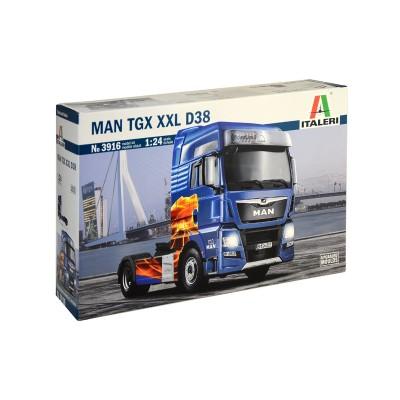 MAN TGX XXL D38 -Escala 1/24- Italeri 3916