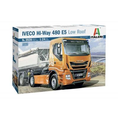 IVECO Hi-Way 480 ES (Low Roof) -Escala 1/24- Italeri 3928