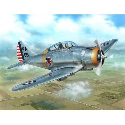 """SEVERSKY P-35 A """"Silver Wings"""" - Escala 1/72 - SPECIAL HOBBY 72260"""