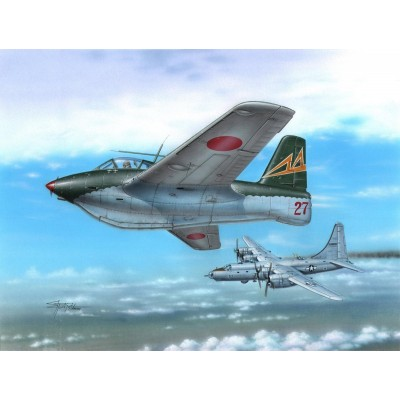 MESSERSCHMITT Me 163C What-If War - ESCALA 1/72 - SPECIAL HOBBY 72263