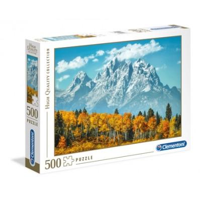 PUZZLE 500 pzas GRAND TETON IN FALL - Clementoni 35034