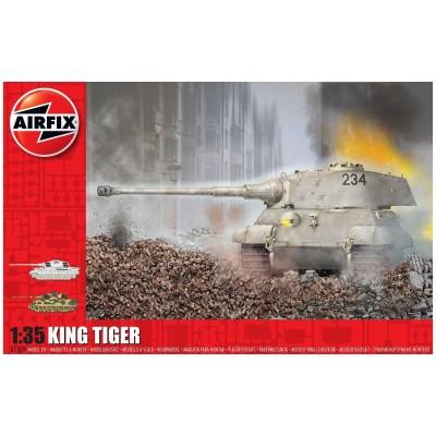 CARRO DE COMBATE Sd.Kfz. 182 KING TIGER -1/35- Airfix A1369
