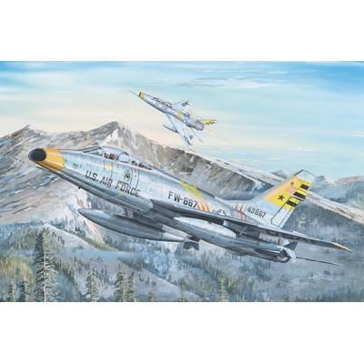 REPUBLIC F-100 F SUPER SABRE -Escala 1/32- Trumpeter 02246