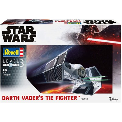 DARTH VADERS TIE FIGHTER Escala 1/57 - REVELL 06780