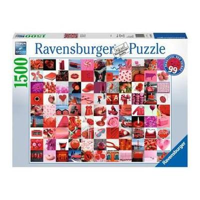 PUZZLE 1500 Pzas. 99 COSAS BELLAS EN ROJO - Ravensburguer 16215