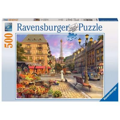 PUZZLE 500 PZAS PASEO POR LA NOCHE PARIS - RAVENSBURGER 14683