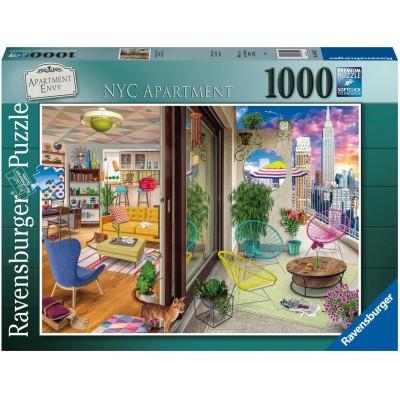 PUZZLE 1000 PZAS APARTAMENTO EN NEW YORK - RAVENSBURGER 16545