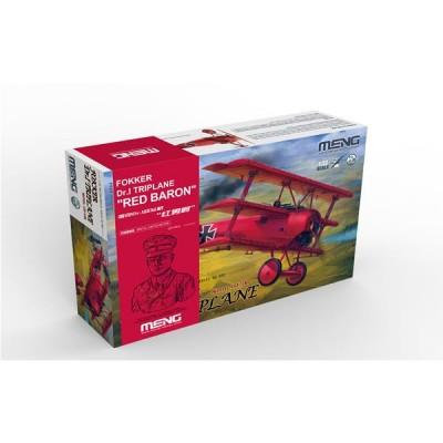 FOKKER Dr.1 (Baron Rojo) & BUSTO -Escala 1/32- Meng Model QS-002S