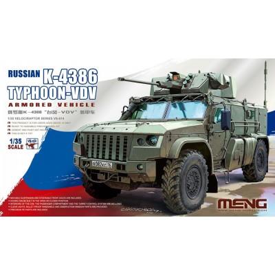VEHICULO BLINDADO K-4386 TYPHOON-VDV -Escala 1/35- Meng Model VS-014