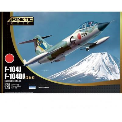 LOCKHEED F-104 DJ / J STARFIGHTER -Escala 1/48- Kinetic K48092