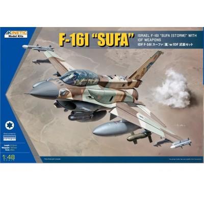 GENERAL DYNAMICS F-16 I FALCON (SUFA) -Escala 1/48- Kinetic K48085