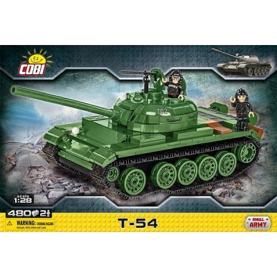 CARRO DE COMBATE T-54 - 480 PZAS - COBI 2613
