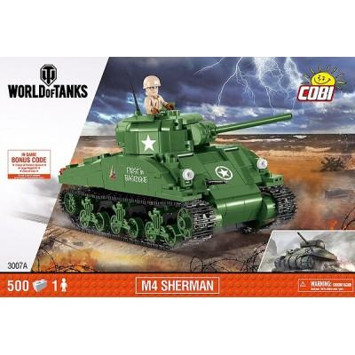M4 SHERMAN 500 PZAS - COBI 3007A