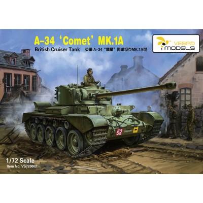 CARRO DE COMBATE COMET MK.1A -Escala 1/72- Vespid Models 720002