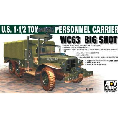 CAMION WC63 BIG SHOT (1-1/2 Ton)
