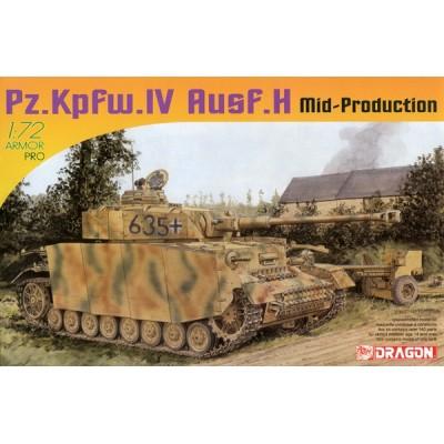 PANZER IV AUSF.H MID PROD. escala 1/72 DRAGON 7279