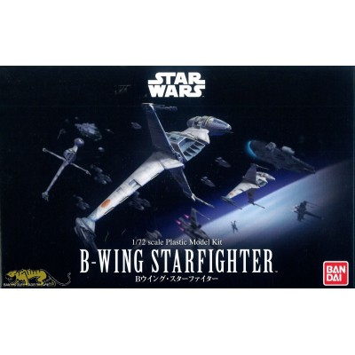 STAR WARS: B-WING STARFIGHTER -Escala 1/72- Bandai 0230456