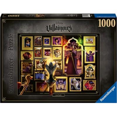 PUZZLE 1000 pzas VILLAINOUS JAFAR, DISNEY - Ravensburguer 15023