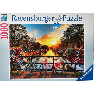 PUZZLE 1000 pzas BICICLETAS EN AMSTERDAM - Ravensburguer 19606