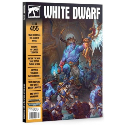 REVISTA WHITE DWARF Nº455 EN INGLES