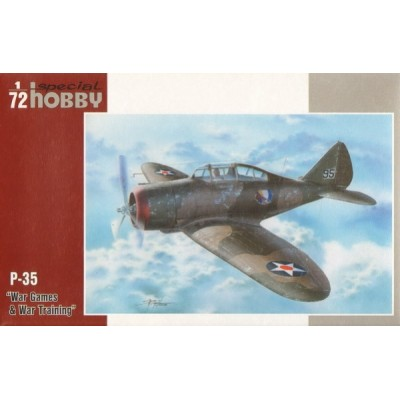 SEVERSKY P-35 WAR TRAINING ESCALA 1/72 - SPECIAL HOBBY 72262