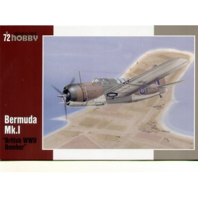 BREWSTER BERMUDA MK.I BRITISH BOMBER - ESCALA 1/72 - SPECIAL HOBBY 72191
