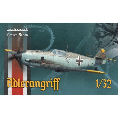 "MESSERSCHMITT BF-109 E ""ADLERANGRIFF"" Limited Edition - Escala 1/32 - EDUARD 11107"