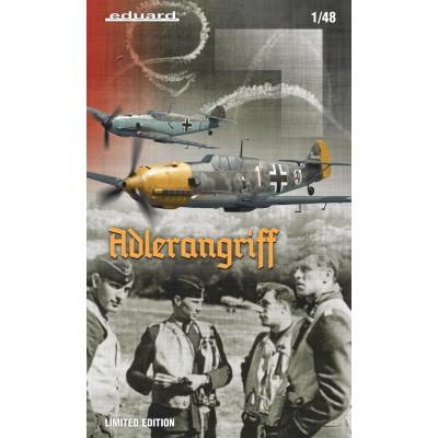 MESSERSCHMITT BF-109E ESCALA 1/48 - ADLERANGRIFF LIMITED EDITION - EDUARD 11144