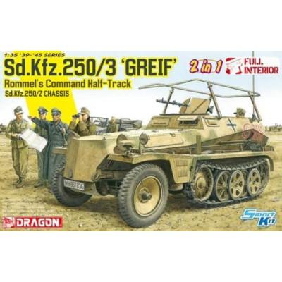 SEMIORUGA SD.KFZ. 250/3 GREIF - SMART KIT - ESCALA 1/35 - DRAGON 6911