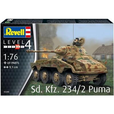 SD.KFZ.234/2 PUMA- ESCALA 1/76 - REVELL 03288