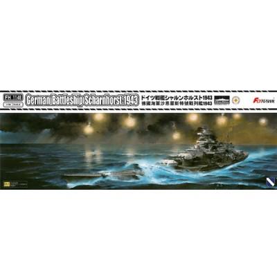 ACORAZADO SCHARNHORST 1943 - ESCALA 1/700 - FLYHAWK 1148