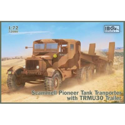 CAMION SCAMMELL PIONEER CON TRMU30 - ESCALA 1/72 - IBG 72080