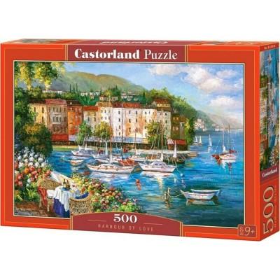 PUZZLE 500 PZS HARBOUR OF LOVE - CASTORLAND 53414