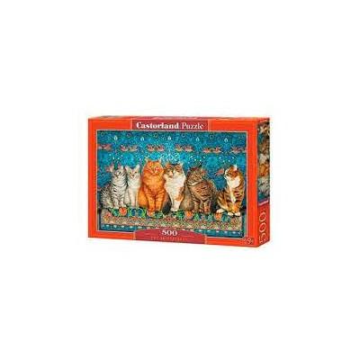 PUZZLE 500 PZS CAT ARISTOCRACY - CASTORLAND 53469