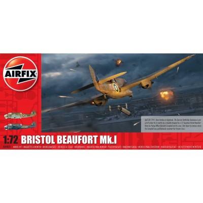 BRISTOL BEAUFORT MK-I -1/72- Airfix A04021