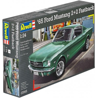 FORD MUSTANG 2+2 FAST BACK ESCALA 1/24 REVELL 07065