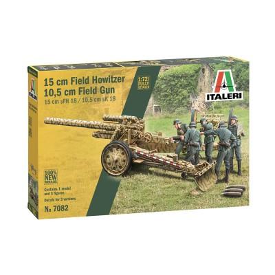 OBUS sFH-18 (150 mm) / SK-18 (105 mm) -Escala 1/72- Italeri 7082