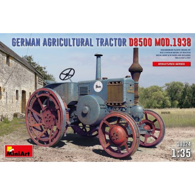 TRACTOR AGRICOLA D8500 Mod. 1938 -Escala 1/35- MiniArt Model 38024