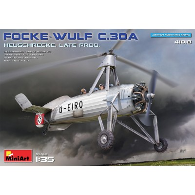 AUTOGIRO FOCKE WULF Fw C.30 A HEUSCHRECKE -Escala 1/35- MiniArt 41018