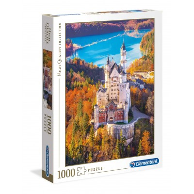 PUZZLE 1000 PZS Neuschwanstein CLEMENTONI 39982