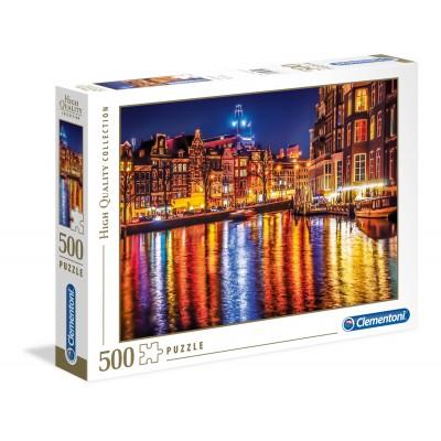 PUZZLE 500 PZS AMSTERDAM CLEMENTONI 35037
